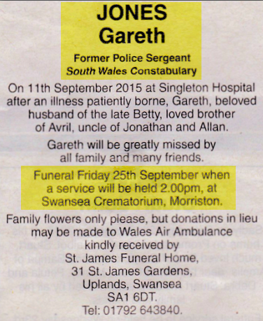 Obituary Gareth Jones