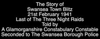 Video by Peter Hall Swansea Blitz
